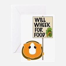 willwheekforfood Greeting Card