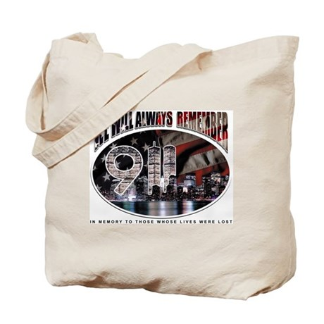Remembering 9/11 Tote Bag