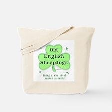 Old English Heaven Tote Bag