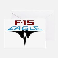 EAGLE_Lg Greeting Card
