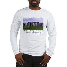 Stonehenge - Long Sleeve Grey T-Shirt