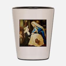 St Catherine Laboure LorAnge Art 2x2 Shot Glass