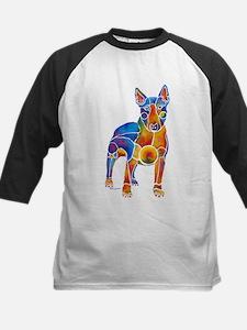 English Bull Terrier Art Gifts Kids Baseball Jerse