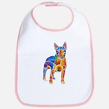 English Bull Terrier Art Gifts Bib