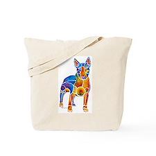 English Bull Terrier Art Gifts Tote Bag