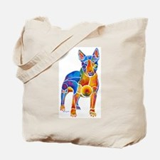 English Bull Terrier Art Gifts Tote Bag