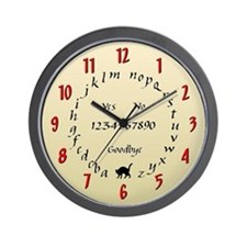 """Ouija"" Wall Clock"