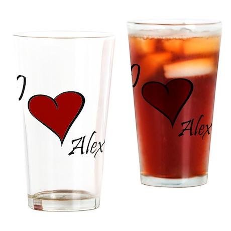 Alex.gif Drinking Glass