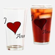 Ana.gif Drinking Glass