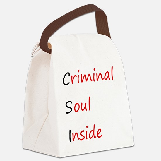 csi.gif Canvas Lunch Bag