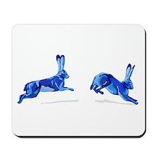 2 Blue Hare Mousepad