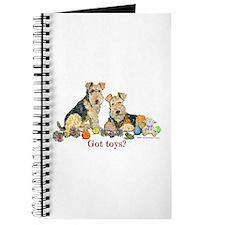 Welsh Terrier Toys Journal