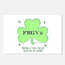 PBGV Heaven Postcards (Package of 8)