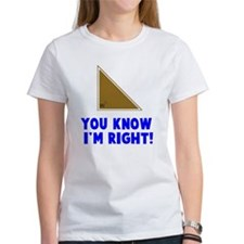 You know I'm right angle Tee