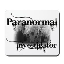 paranormal investigator light Mousepad