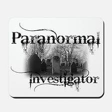 paranormal investigator light Mousepad