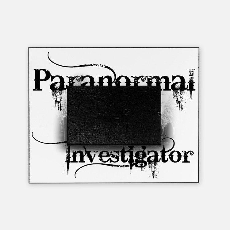 paranormal investigator light Picture Frame