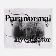 paranormal investigator light Throw Blanket