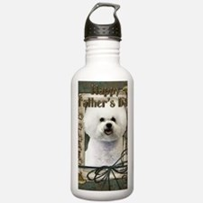 Stone_Paws_Bichon_Fris Water Bottle