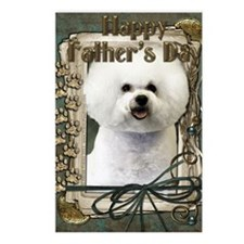 Stone_Paws_Bichon_Frise Postcards (Package of 8)