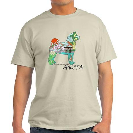 Akita national treasure color nb PNG Light T-Shirt
