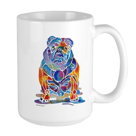 English Bulldogs Large Mug
