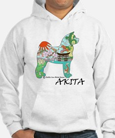 Akita national treasure color nb Hoodie