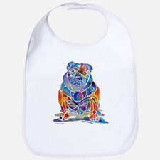 English Bulldogs Bib