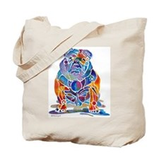 English Bulldogs Tote Bag