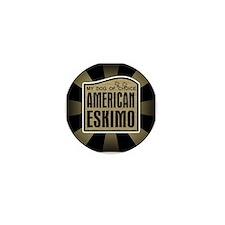 American Eskimo Dog of Choice Mini Button (10 pack