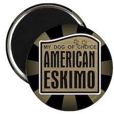 American Eskimo Dog of Choice Magnet