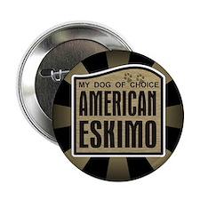 "American Eskimo Dog of Choice 2.25"" Button (10 pac"
