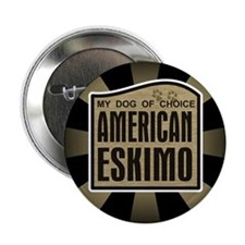 American Eskimo Dog of Choice Button