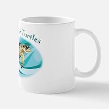 protect our turtles rectangle copy Mug