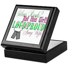 l andf p army Keepsake Box