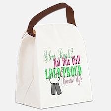 l andf p coastie Canvas Lunch Bag