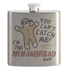 Ninjabread Man Flask