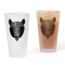 Brown Bear Drinking Glass