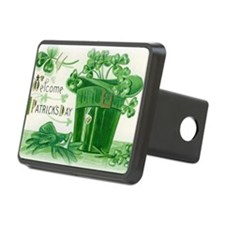 Vintage Green St Patricks  Hitch Cover