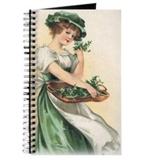 woman-with-basket-of-shamrocks Journal