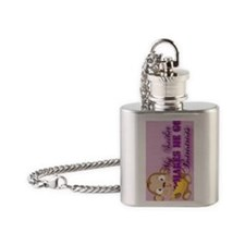 sailor journal Flask Necklace