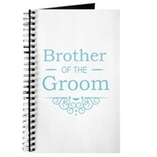 Brother of the Groom blue Journal