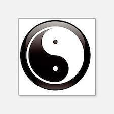 "yin Square Sticker 3"" x 3"""