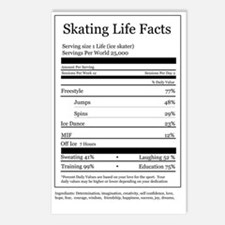 Skating Life Facts Postcards (Package of 8)