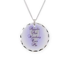 Angels Are Watching Over Me  Necklace