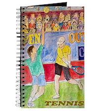 tennis frame print Journal