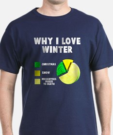 Why I love winter T-Shirt