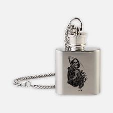 Grim Reaper Flask Necklace