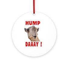 Hump Daaay Camel Ornament (Round)