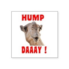 Hump Daaay Camel Sticker